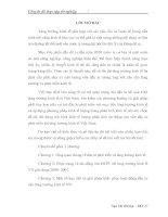 KHẮC PHỤC CHO HOẠT ĐỘNG ĐẦU TƯ CHO TĂNG TRƯỞNG KINH TẾ VIỆT NAM