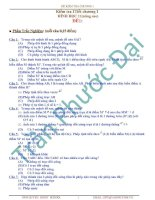 Tuyển tập đề kiểm tra  chương I hình học 11(Nâng cao)