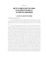 NHỮNG BIỆN PHÁP NHẰM CỦNG CỐ VÀ MỞ RỘNG THỊ TRƯỜNG TIÊU THỤ CỦA CÔNG TY XĂNG DẦU HÀNG  Việt Nam