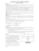 Đề thi HSG Vật lý 9 (.4Y)