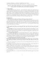 Chủ nghĩa anh hùng cách mạng trong 2 truyện ngắn Rừng xà nu và Những đứa con trong gia đình