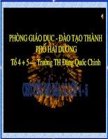 Bài giảng chuyên đề Địa Lý 5 bài: Châu Á