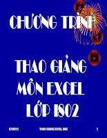 cac ham trong EXCEL