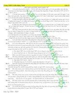 Chuyên đề bài tập lập CTPT Hợp chất hữu cơ