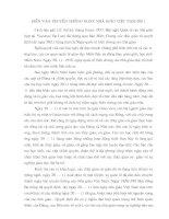 Diễn văn kỷ niệm ngay nhà giáo việt nam 20-11