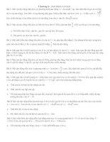 Bài tập tự luận Dao động cơ học.