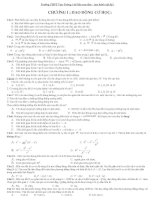 600 câu trắc nghiệm Lý 12