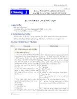 Giáo án tin học 12 CT mới