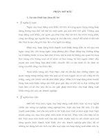 PHƯƠNG HƯỚNG VÀ MỘT SỐ GIẢI PHÁP ĐẨY MẠNH XUẤT KHẨU MẶT HÀNG  NÔNG SẢN TẠI CÔNG TY VILEXIM