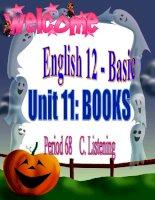 grade 12 - unit 11- Reading
