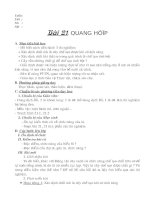 Bai 21. Quang hop