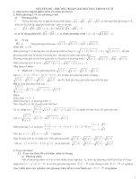 Chuyên đề phương trình vô tỷ( sưu tầm)