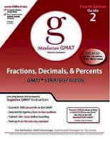 GMAT_the fractions, decimals, and percents guide 4th edition(2009)BBS