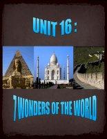 WONDERS OF THE WORLD2