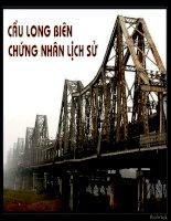 Cầu Long Biên chứng nhân lịch sử