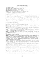 inorganic chemistry content