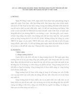 MỐI QUAN HỆ GIỮA TĂNG TRƯỞNG KINH TẾ VỚI TIẾN BỘ XÃ HỘI  VÀ VẬN DỤNG MỐI QUAN HỆ NÀY Ở VIỆT NAM