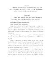 XEM XÉT MỐI QUAN HỆ GIỮA CƠ CẤU TỔ CHỨC VỚI CHIẾN LƯỢC KINH DOANH CỦA CÔNG TY XUẤT NHẬP KHẨU HÀNG THỦ CÔNG MỸ NGHỆ ARTEXPORT