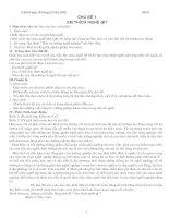 Giáo án hương nghiệp 10