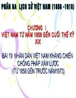 bai 19 nhan dan Vn khang chien chong Phap xam luoc
