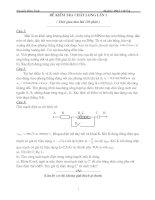 Tuyển tập các đề ôn luyện Vật Lý 12