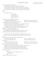 đề 4 kiểm tra 1 tiết trắc nghiệm 50 câu