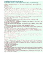 So sánh bài thơ Đồng chí và Bài thơ về tiểu đội xe không kính.doc