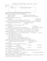 KIỂM TRA 1 TIẾT-11 CƠ BẢN
