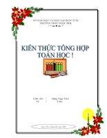 Bìa Để Đóng Tập Tiểu học !.