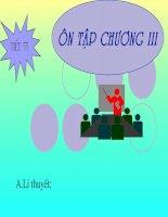 Tiet 55-Hinh9:On tap chuong III