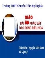 Bai tap khao sat DĐĐH