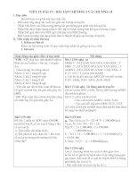 Bài 15: Bài tập chương I và II