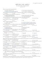 bai kT 1 tiết số 2- 12 chuyên ban