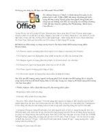 Sử dụng các công cụ đồ họa của Microsoft Word 2007