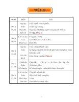 GIÁO ÁN LỚP 5 - TUẦN 16