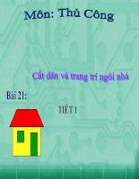thu cong (cat dan ngoi nha)