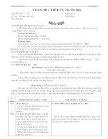 Lý luận Văn học 11NC- Tuần 20
