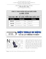 Đề thi tin học căn bản trình độ A - Word