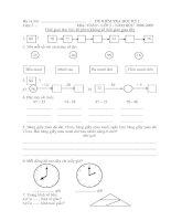 Đề thi học kì 1, 08-09, toán 2