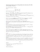 Đề Thi Tuyển Sinh Vào Lớp 10 Năng Khiếu Toán Năm Học 2007-2008 (PTNK ĐHQG TPHCM)
