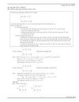 Luyện thi vào THPT (CĐ hệ phương trình)