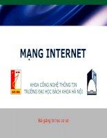 Giáo trình Internet - Tin học cơ sở V2.0