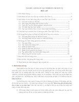 Tài liệu tạo và điều hành trang web