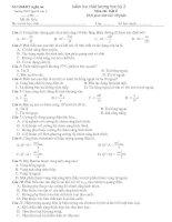Câu hỏi trắc nghiệm Vật Lý_3