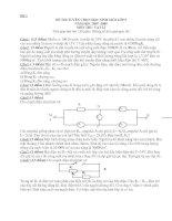 13 đề thi HSG lý 8,9 (có đáp án)