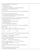 250 Câu hỏi vật lý Hạt nhân, có đáp án