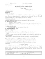 Hạnh phúc của một tang gia (tiết 1- Le Anh)