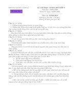 ĐỀ THI CHỌN HSG 9 (08-09)