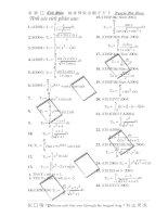 Các bài toán tích phân trong các kì thi đại học, cao đẳng