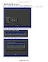 Cách tạo bản Ghost dự phòng cho PC ( có hình minh họa cụ thể )
